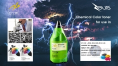 Zeus Chemical Color toner for Refill
